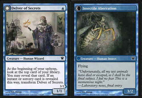 Delver of Secrets | Insectile Aberration