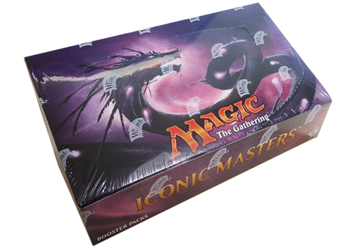 英語版 Iconic Masters Booster BOX