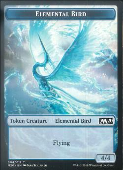 【Token】ELEMENTAL BIRD