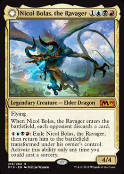 Nicol Bolas, the Ravager | Nicol Bolas, the Arisen