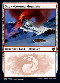 Snow-Covered Mountain(282