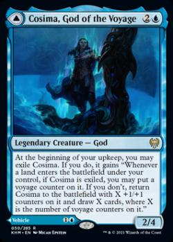 Cosima, God of the Voyage | The Omenkeel